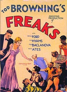 La copertina DVD di Freaks