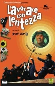 La copertina DVD di Lavorare con lentezza