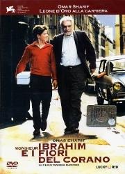 La copertina DVD di Monsieur Ibrahim e i fiori del Corano