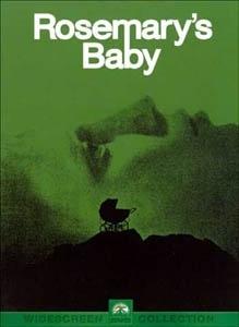 La copertina DVD di Rosemary's Baby