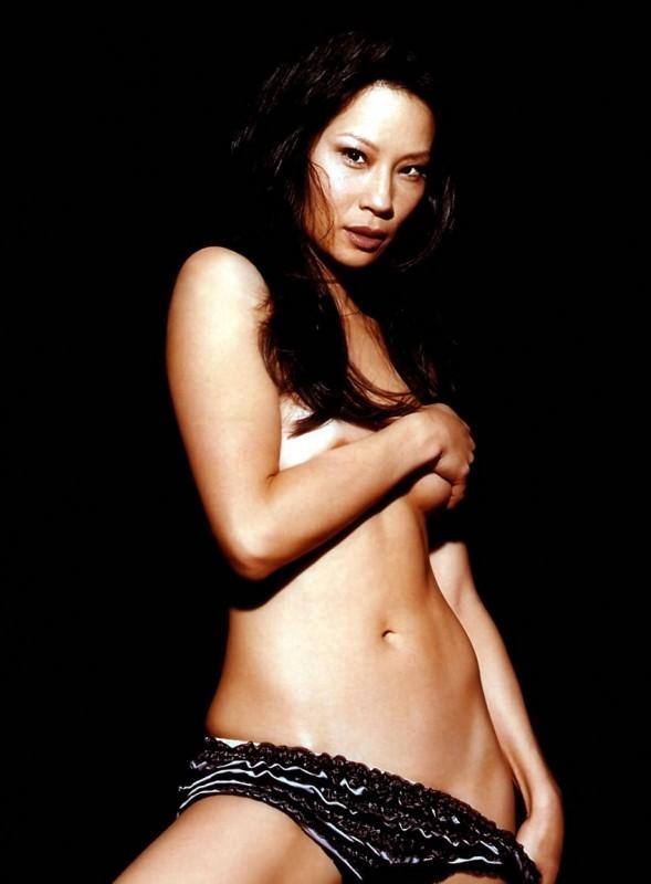 Una sexy Lucy Liu