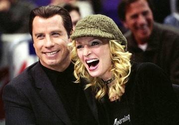 Uma Thurman e John Travolta in una sequenza di Be Cool
