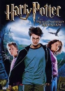 La copertina DVD di Harry Potter e il prigioniero di Azkaban