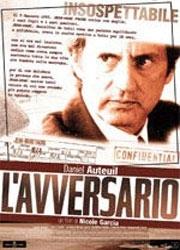 La copertina DVD di L'avversario