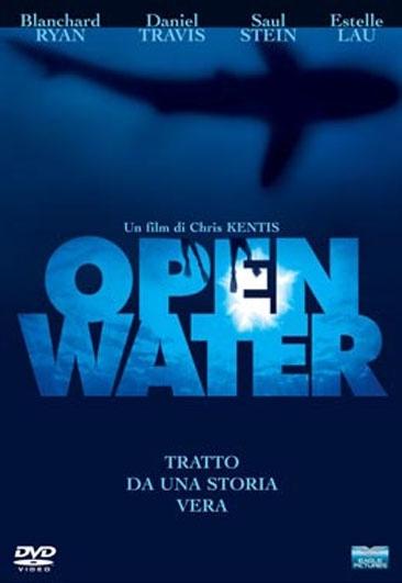 La copertina DVD di Open Water