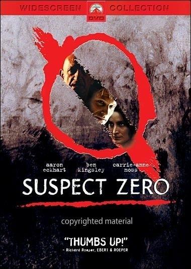 La copertina DVD di Suspect Zero