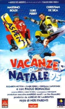 La locandina di Vacanze di Natale 95