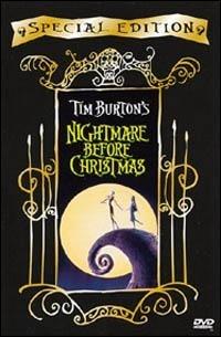 La copertina DVD di Nightmare Before Christmas