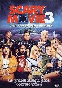 La copertina DVD di Scary Movie 3 - Una risata vi seppellirà