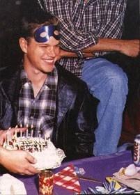 Matt Damon in maschera