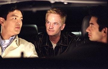 John Cho, Neil Patrick Harris e Kal Penn in una scena di American Trip