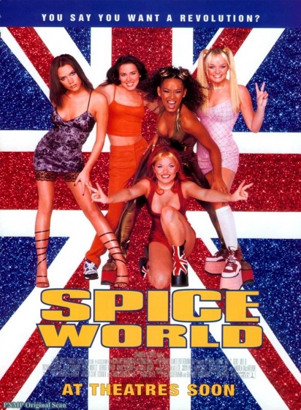 La locandina di Spice World