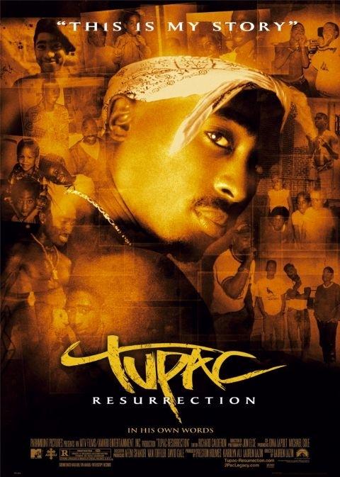 La locandina di Tupac: Resurrection