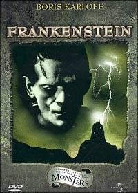 La copertina DVD di Frankenstein