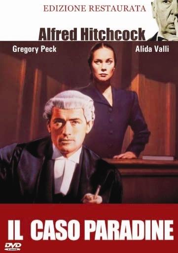 La copertina DVD di Il caso Paradine