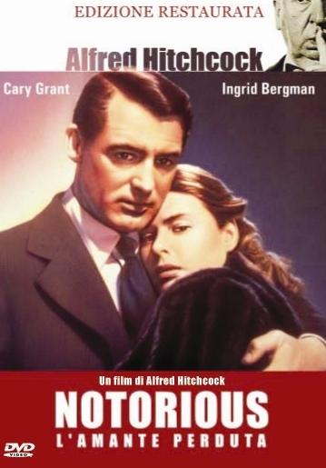 La copertina DVD di Notorius - L'amante perduta