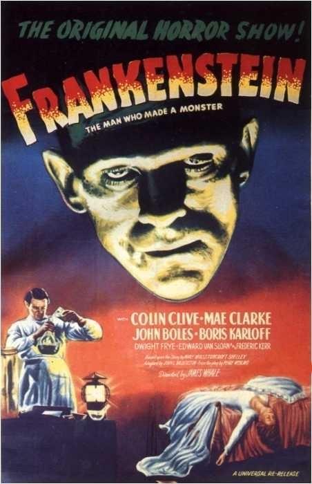 La locandina di Frankenstein