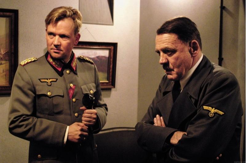 Bruno Ganz è Adolf Hitler nel film La caduta