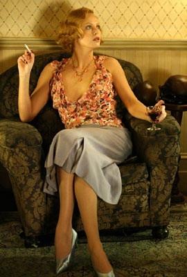 Charlize Theron in una scena di Gioco di donna