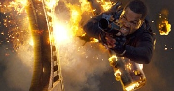 Ice Cube in una scena di xXx 2: The Next Level