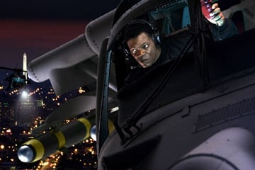 Samuel Jackson in una scena di xXx: The Next Level