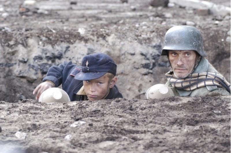 Una scena del film La caduta (Der Untergang)