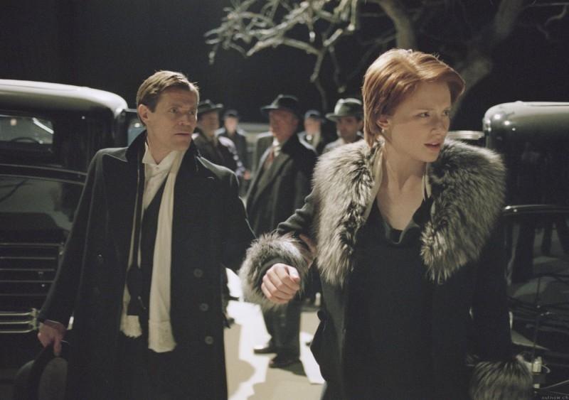 Bryce Dallas Howard e Willem Dafoe in una scena del film Manderlay