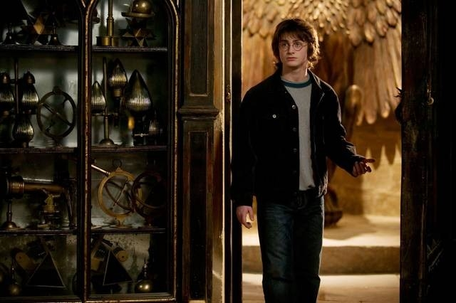 Daniel Radcliffe in una sequenza di Harry Potter e il calice di fuoco