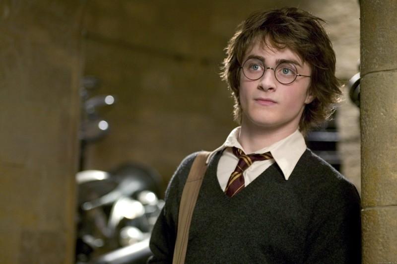 Daniel Radcliffe in una scena di Harry Potter e il calice di fuoco