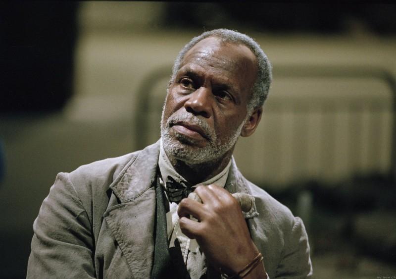 Danny Glover in una scena del film Manderlay