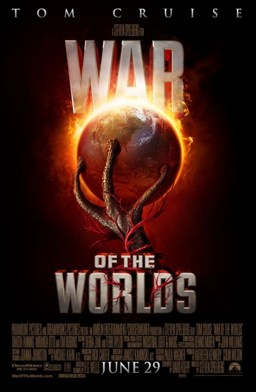 Il manifesto de La guerra dei mondi
