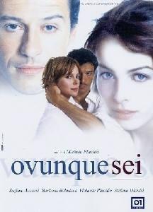 La copertina DVD di Ovunque sei