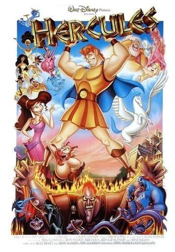 La locandina di Hercules