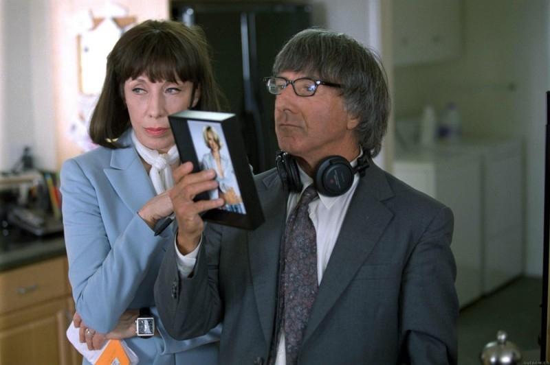 Dustin Hoffman e Lily Tomlin in una scena di I Love Huckabees