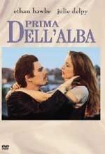 La copertina DVD di Prima dell'alba