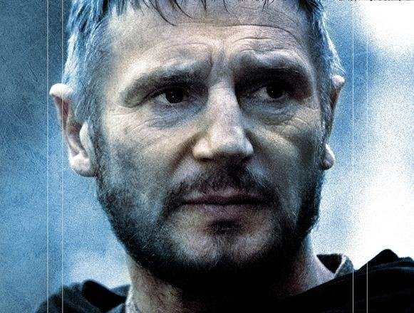 Liam Neeson in una scena de Le crociate