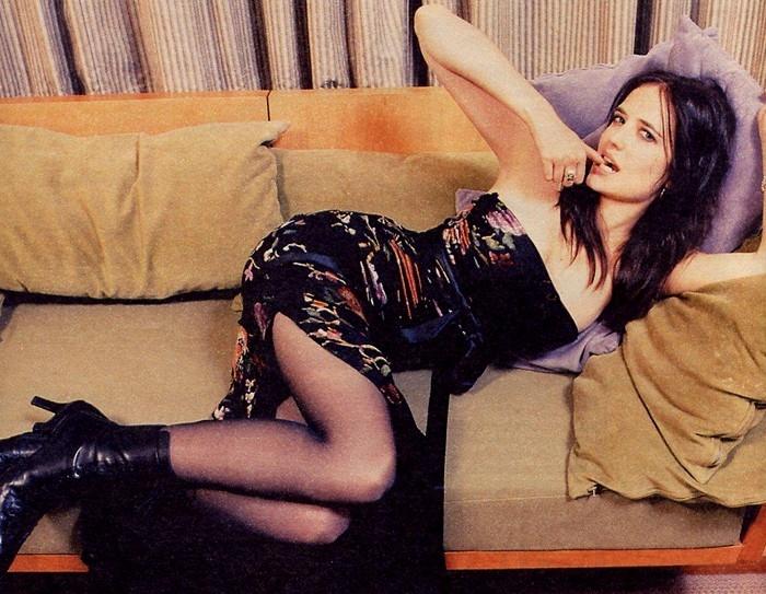una sexy Eva Green