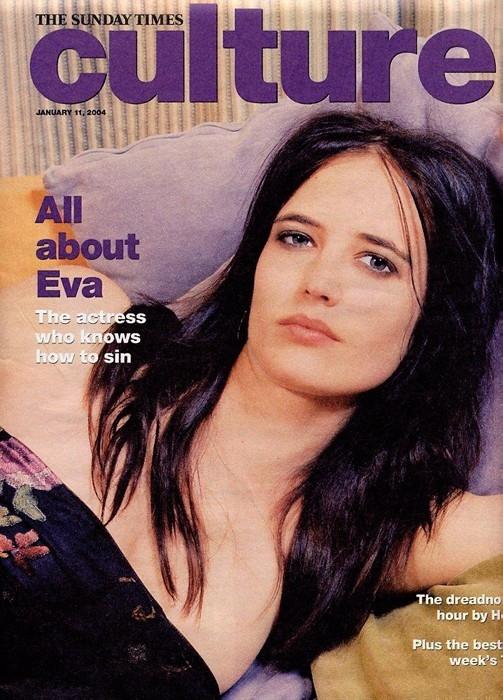 """Eva Green sulla copertina del magazine Culture, definita come """"L'attrice che sa come peccare"""""""