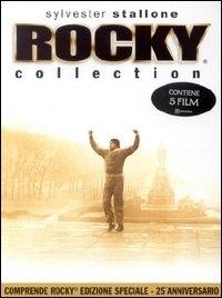 La copertina DVD di Rocky - Collection