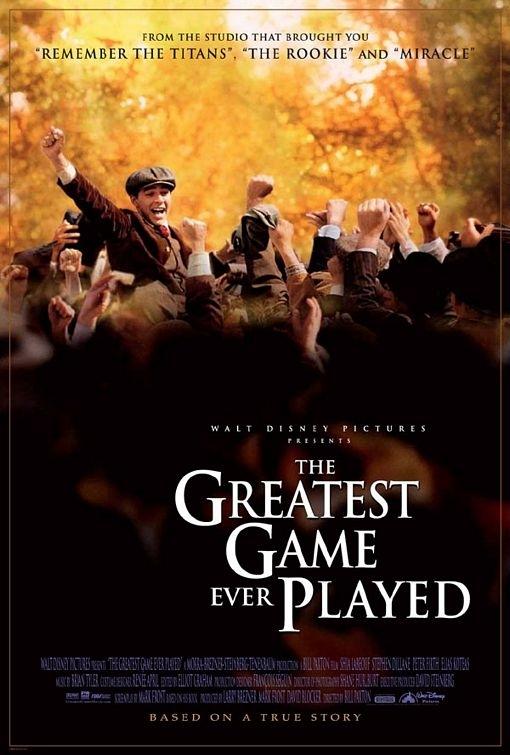 La locandina di The Greatest Game Ever Played