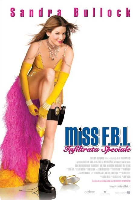 La locandina italiana di Miss Fbi: Infiltrata Speciale