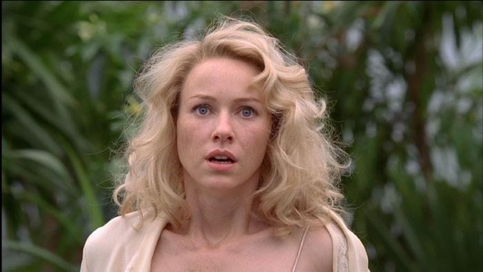 L'attrice Naomi Watts in una scena di King Kong