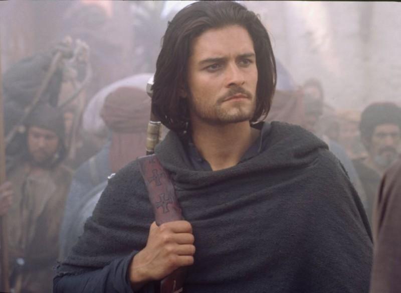 Orlando Bloom in una scena de Le crociate