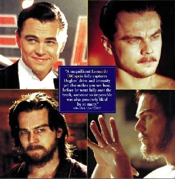 I volti di Howard Hughes secondo Leonardo Di Caprio