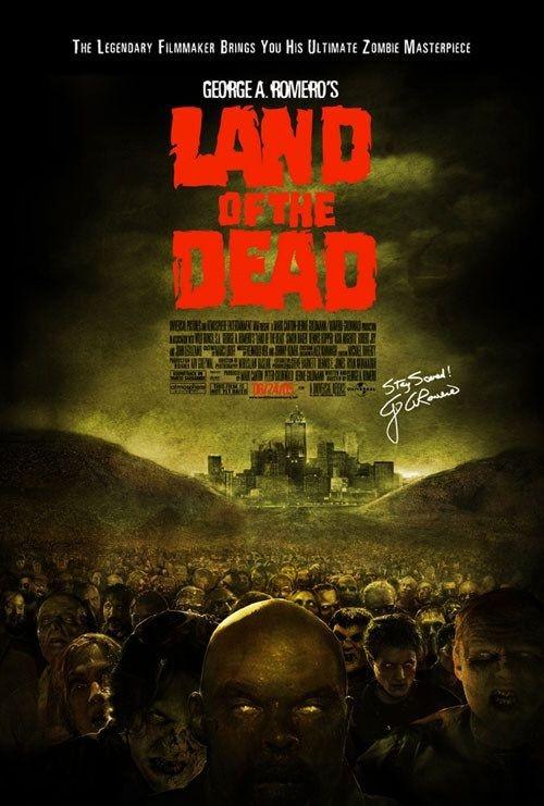 Il manifesto americano di Land of the Dead