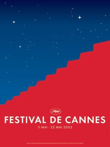 Il poster ufficiale di Cannes Film Festival 2005