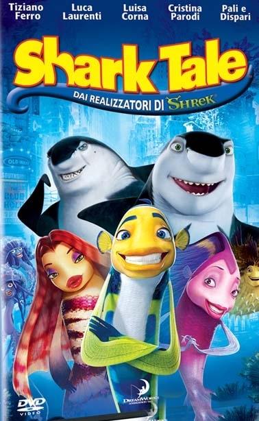 La copertina DVD di Shark Tale