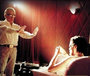 Martin SCorsese dirige Leonardo DiCaprio in The Aviator