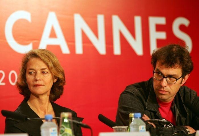 Charlotte Rampling e il regista Dominik Moll a Cannes per presentare Lemming