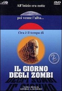 La copertina DVD di Il giorno degli zombi